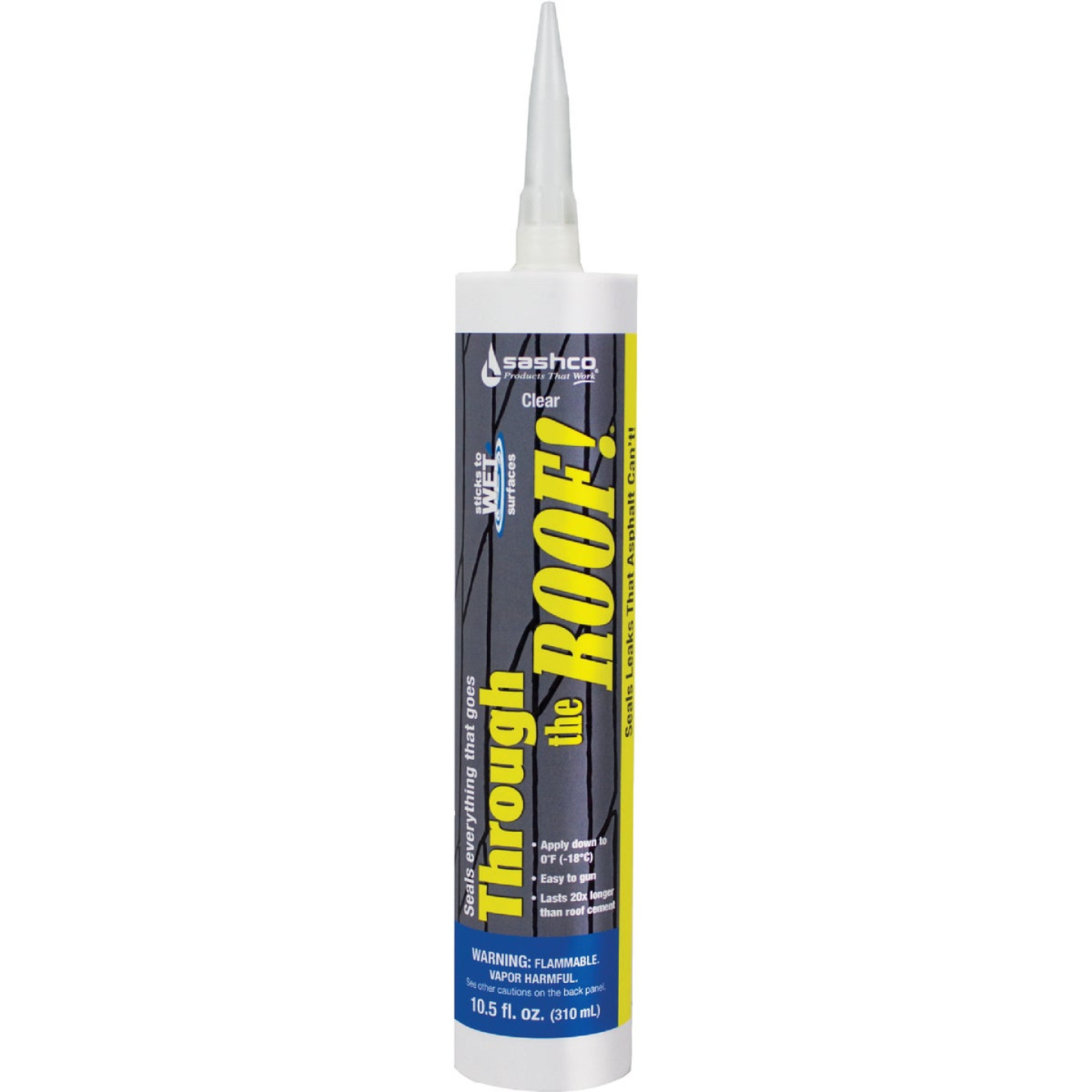 Through the Roof! 10.5 Oz. Cartridge Cement & Patching Sealant Image 1