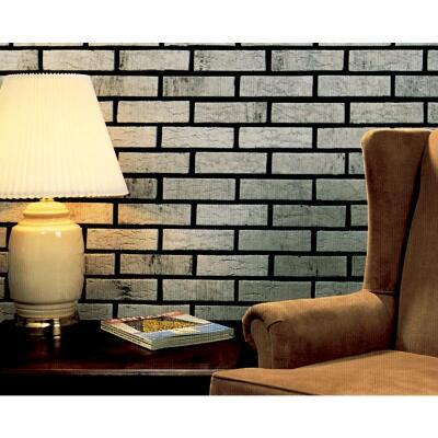 Z-Brick Americana 2-1/4 In. x 8 In. Silver Facing Brick