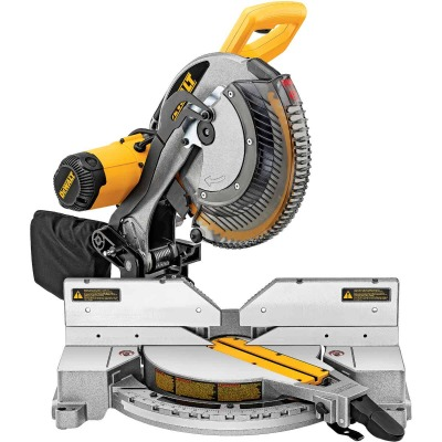 DeWalt 12 In. 15-Amp Dual-Bevel Compound Miter Saw