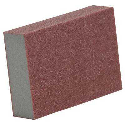 Do it Best Premium 3 In. x 5 In. x 1 In. 80 Grit Coarse Sanding Sponge