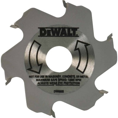 DeWalt 4 In. 6-Tooth Carbide Plate Joiner Blade