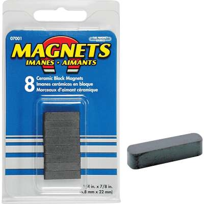 Master Magnetics 7/8 in. x 1/4 in. Magnetic Block