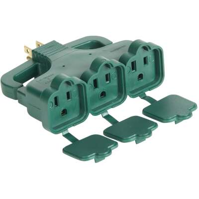 Do it Green 15A 3-Outlet Tap with Rain Cover