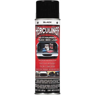 Herculiner 15 Oz. Black Truck Bed Liner Spray