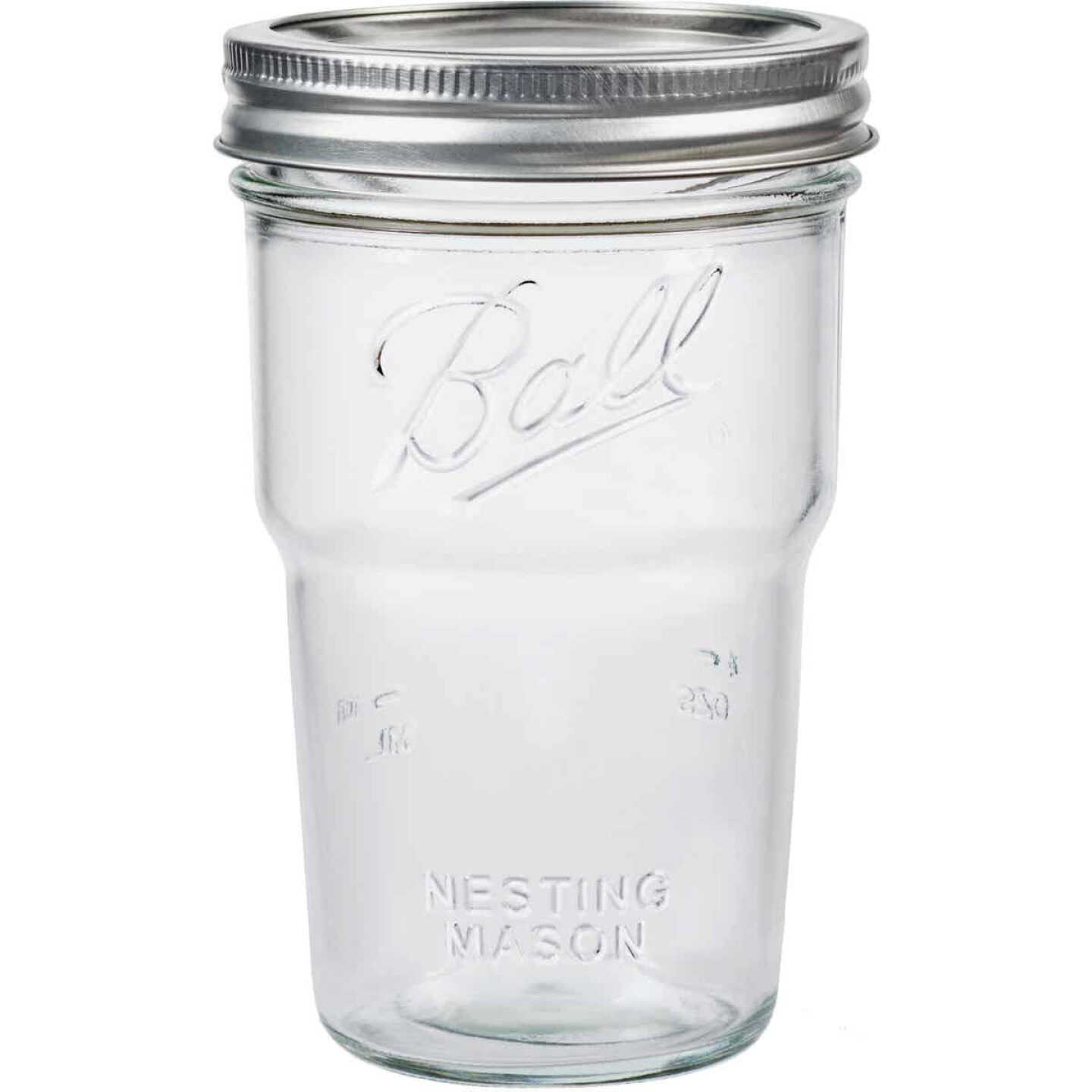 Ball Wide Mouth Pint Nesting Canning Jar (4 Pack) Image 1