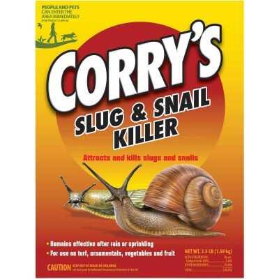 Corry's 3-1/2 Lb. Ready To Use Granules Slug & Snail Killer