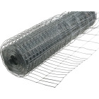 Rabbit Guard 40 In. H. x 50 Ft. L. Galvanized Wire Garden Fence, Silver Image 1