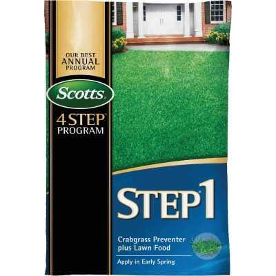 Scotts 4-Step Program Step 1 13.46 Lb. 5000 Sq. Ft. 28-0-7 Lawn Fertilizer with Crabgrass Preventer