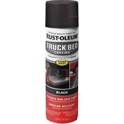 Rust-Oleum Stops Rust 15 Oz. Black Truck Bed Liner Spray
