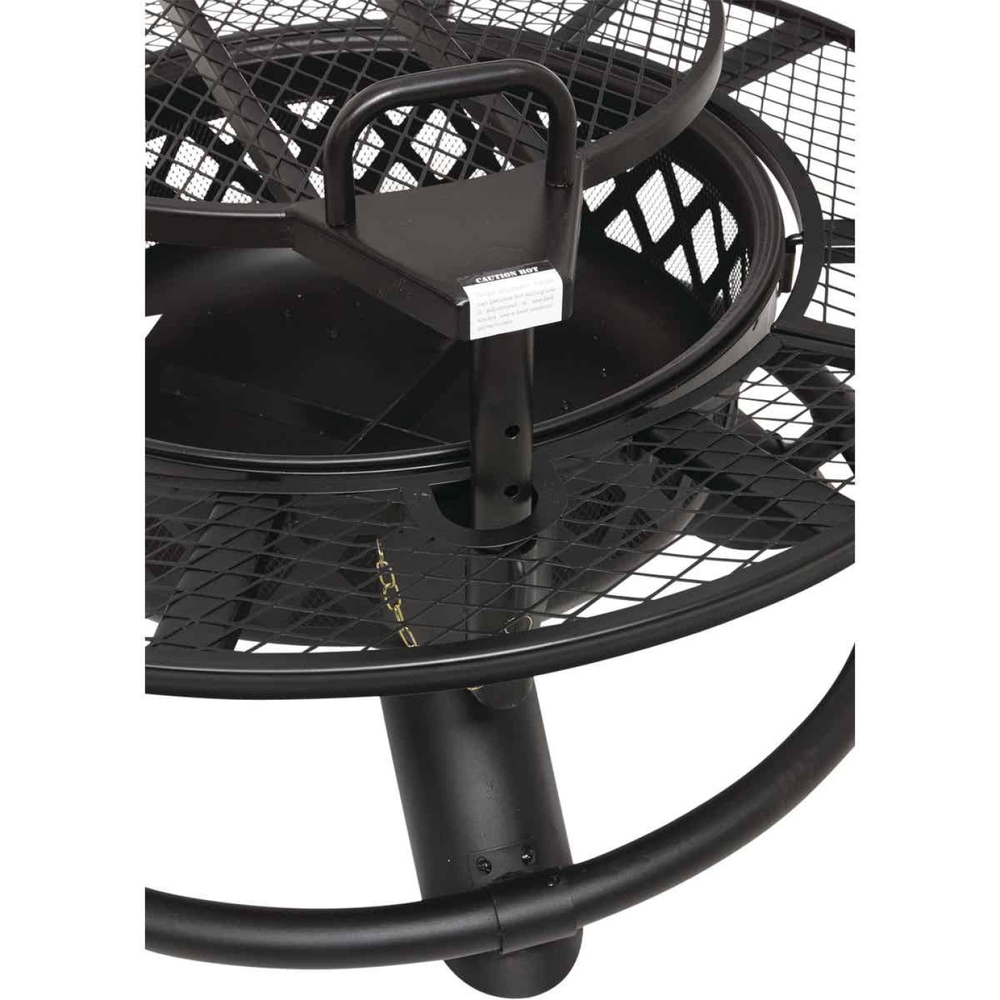 Big Horn 47 In. Camp Black Round Steel Fire Pit Image 6